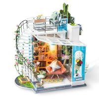 Dora's zolderkamer miniatuur huisje