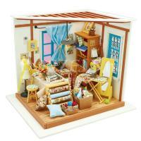 Lisa's naaiatelier miniatuurhuisje