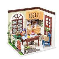 Mevrouw Charlies eetkamer miniatuurhuisje