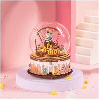 The Birthday song muziekdoos bouwpakket (AM42) music box