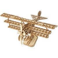 Vliegtuig houten bouwpakket TG301
