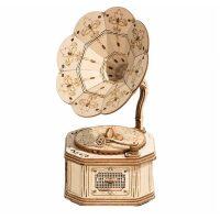 Gramophone houten bouwpakket