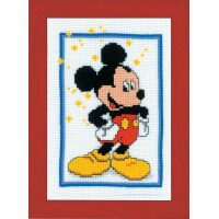 Disney Mickey Mouse borduren (pakket)
