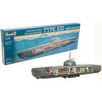 Revell German Submarine Type XXI met interieur